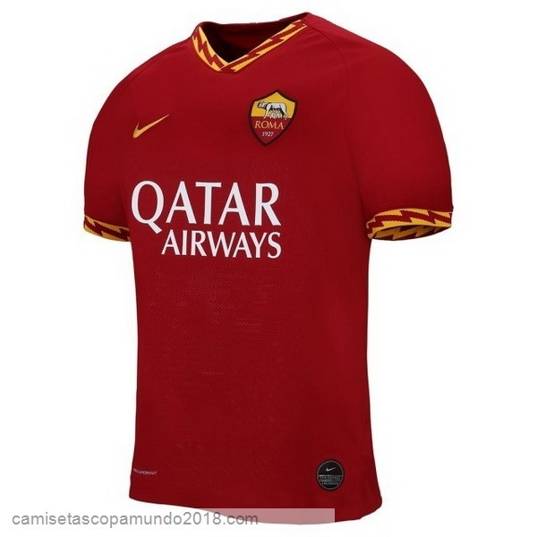 Baratas Originales Todo 1ª Camiseta As Roma 19-20 Rojo