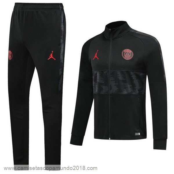 Baratas Originales Todo Chandal Paris Saint Germain 19-20 Negro Rojo