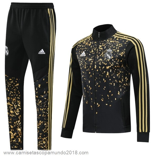 Baratas Originales Todo Chandal Real Madrid Amarillo Negro 19-20