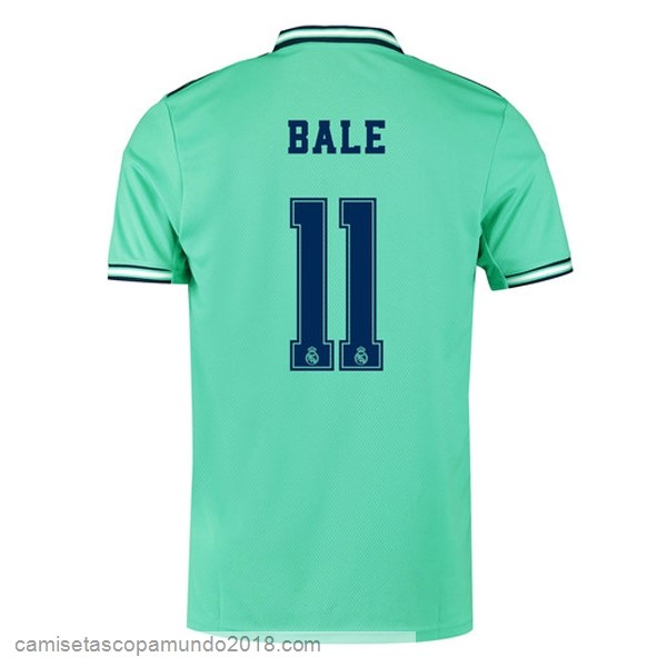 Baratas Originales Todo NO.11 Bale 3ª Camiseta Real Madrid 19-20 Verde