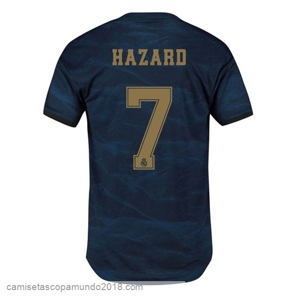 Baratas Originales Todo NO.7 Hazard 2ª Camiseta Real Madrid 19-20 Azul